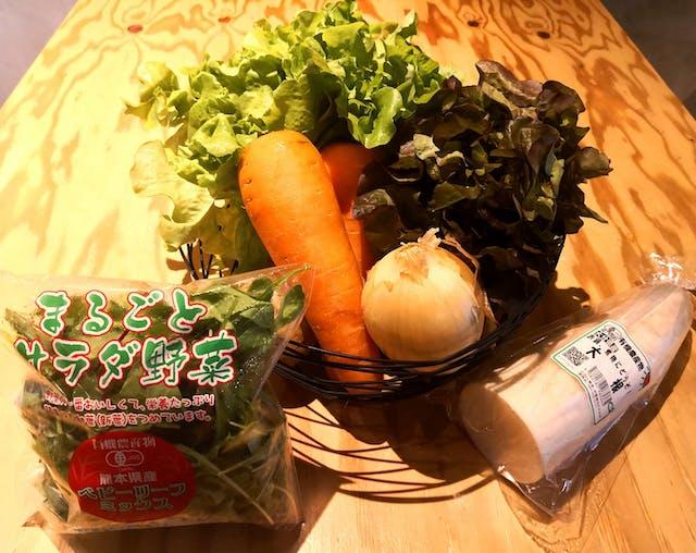 野菜や果物も購入可能